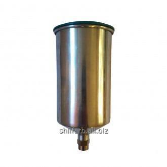 Верхний бачок алюминиевый 1,0 л для краскопультов Air Pro HW-1AC