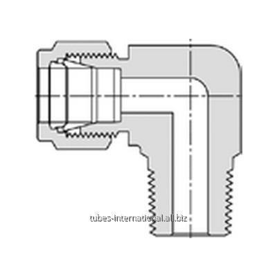 Купить Соед. коленко с наруж. резьбой NPT для метрич.трубки M769L Let-Lok