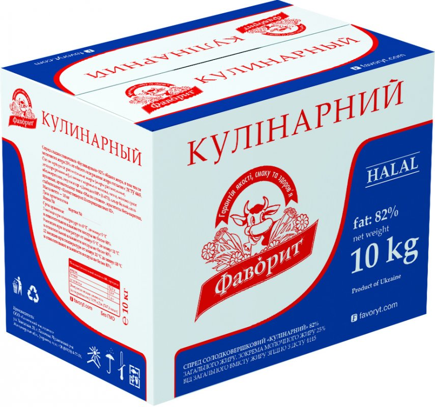"SPREAD ""Culinary"" 82% / SPREAD ""KULINARNYI"" 82%"