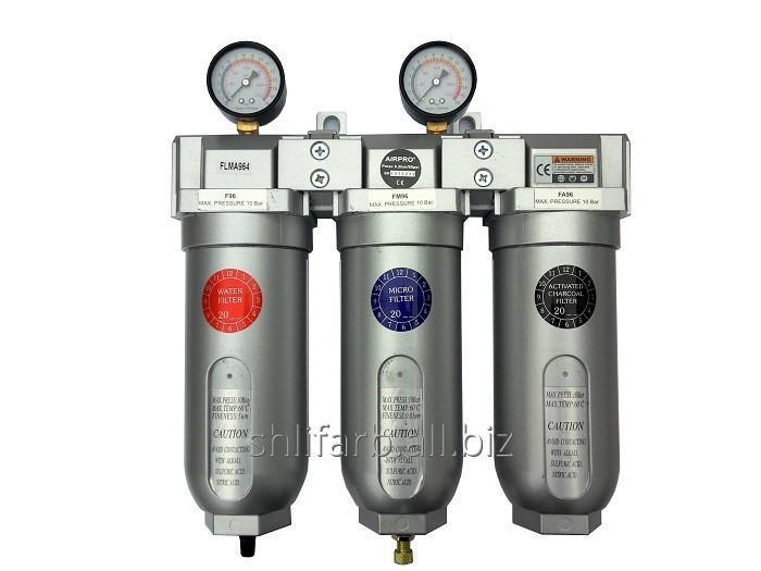 Фильтр очистки 1 + регулятор давления (редуктор) Air Pro SBFR-500-8-M