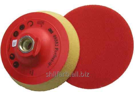 Оправка (крепление Hookit) 3М-09552 для полировальника для резьбы М14