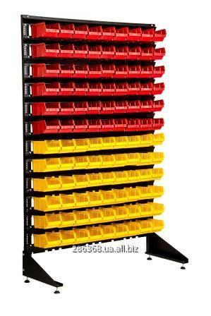 Купить Универсальный стеллаж с контейнерами под метизы