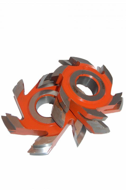 Купить Комплект фрез 03-705/160 для изготовления обшивочной доски с перекрытием, фаска