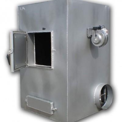 Купить Печь воздушного отопления на твердом топливе с автоматикой