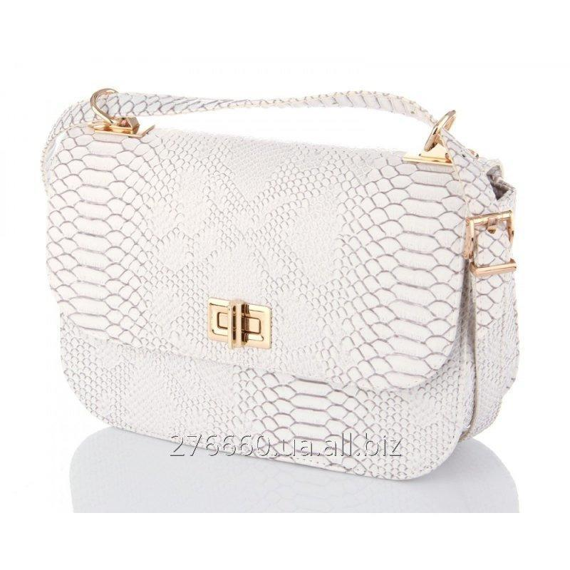 Buy Bag the White snake in oval execution