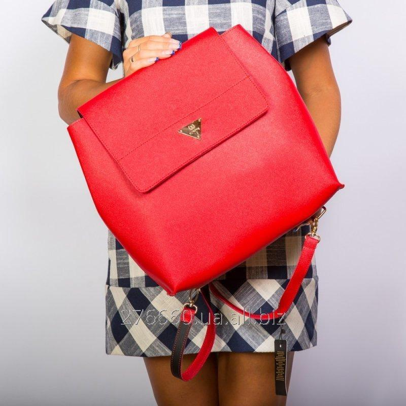 Buy I eat a rigid red opaque backpack