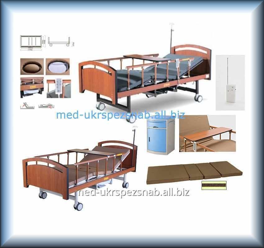 Купить Кровать медицинская электрическая со встроенным туалетом YG-3