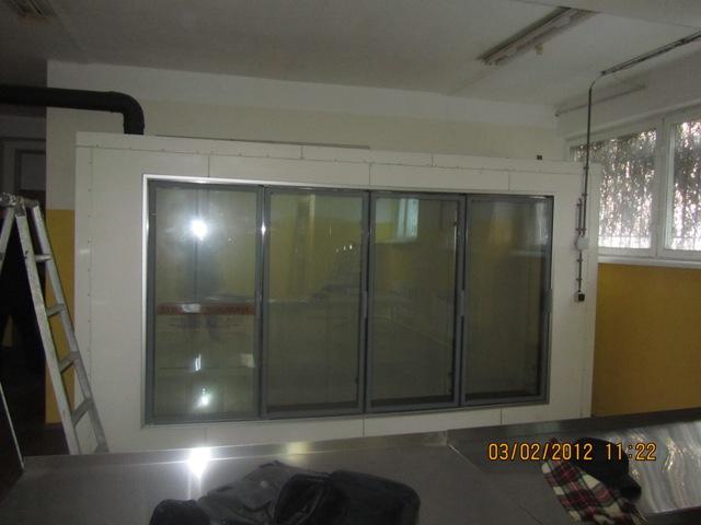 Холодильная камера – витрина