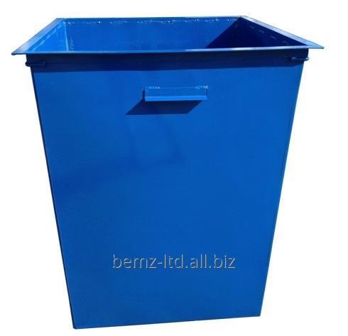 Купить Контейнер для твердых бытовых отходов без крышки