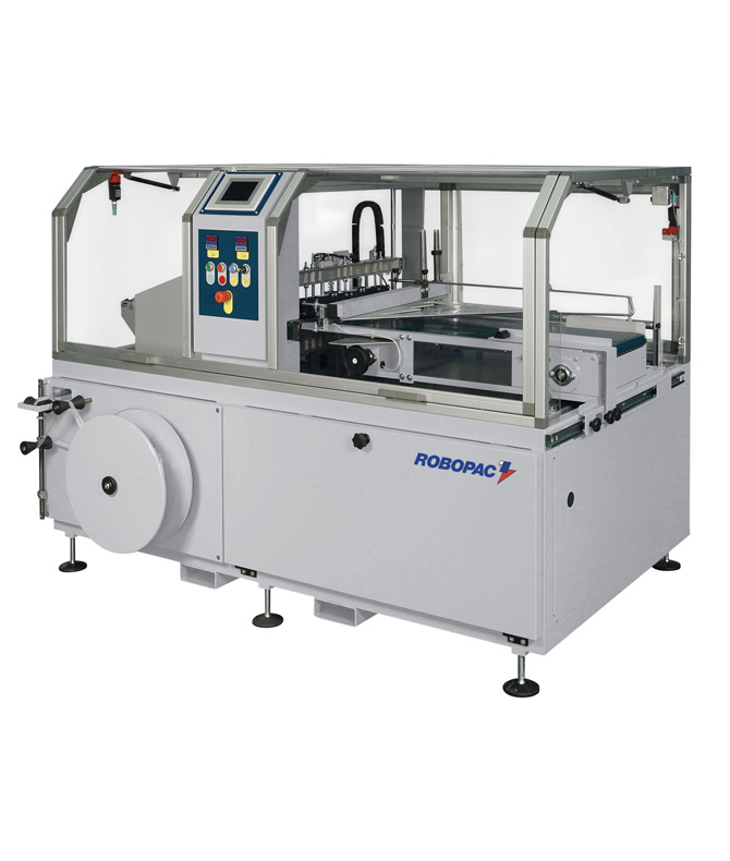 Automatic equipment for packing by a thermoshrinkable film of Athena CS 450