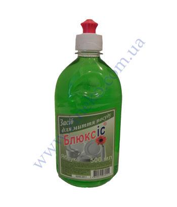 Купить Жидкость для посуды Bluxis 500мл яблоко