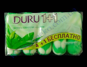 Duru soap toilet 4+1 sht*90g cashmere, zel.chay, mors.minerala