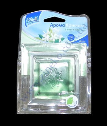 Buy Gel - an air freshener Aromakristall of 8 g summer nastr. in glass