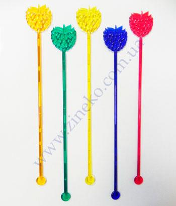 Mixer of Malines of color 100 pieces 18,5 cm