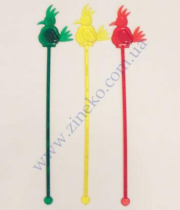 Mixer Parrot of color 100 pieces 24,5sm Z