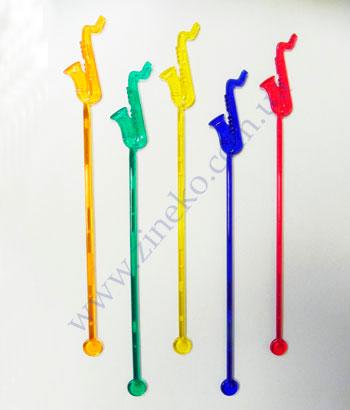 Mixer Saxophone of color 100 pieces 19 cm