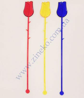 Mixer Flower of color 100 pieces 23 cm of Z