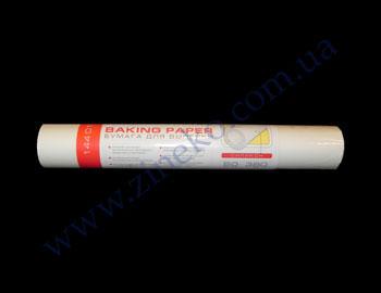 Бумага пергаментная Pro-1300 белая 50м*38см в рул. силикон. для выпечки