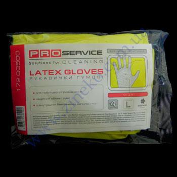 Купить Перчатки плотные Pro-17200500 унив. желтые с ХБ напыл. р.L 2пары
