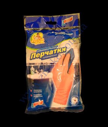 Купить Перчатки суперпрочные розовые ФБ с х/б напыл. р.L-большой