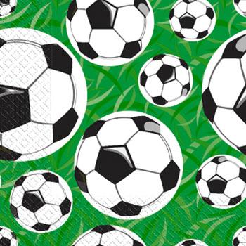 Napkin 24х24 3-layer Margo soccer