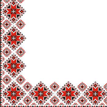 Napkin 24х24 3-layer Margoainsky ornamen