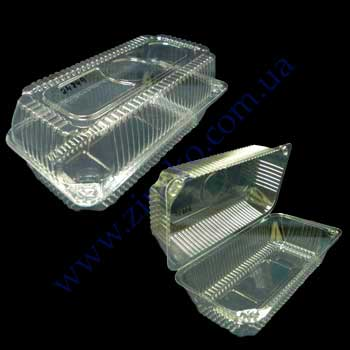 Buy PR-025 capacity with a cover of 280 pieces 1600 ml 22*12*8sm