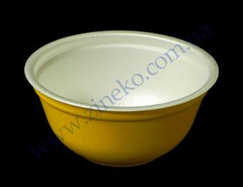 Купить Миска под суп d=13,5 h=6,7см 480шт цветная