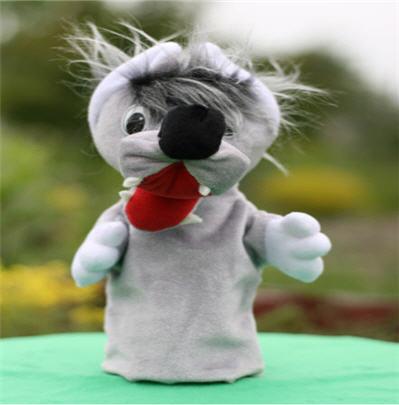 """Купить Игрушки на руку для кукольного театра. Герои театра Волк. Большой кукольный театр """"Бибабо"""""""