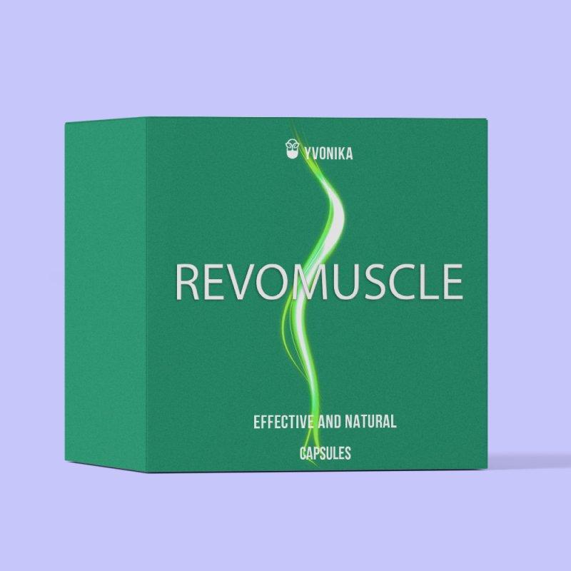 Капсулы для наращивания мышечной массы RevoMuscle РевоМускл
