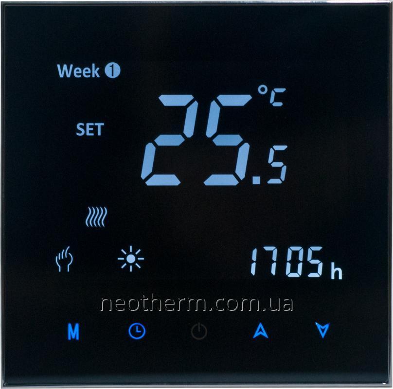 Пульт управления теплым полом Mycond New Touch MC-HNT-B цвет черный