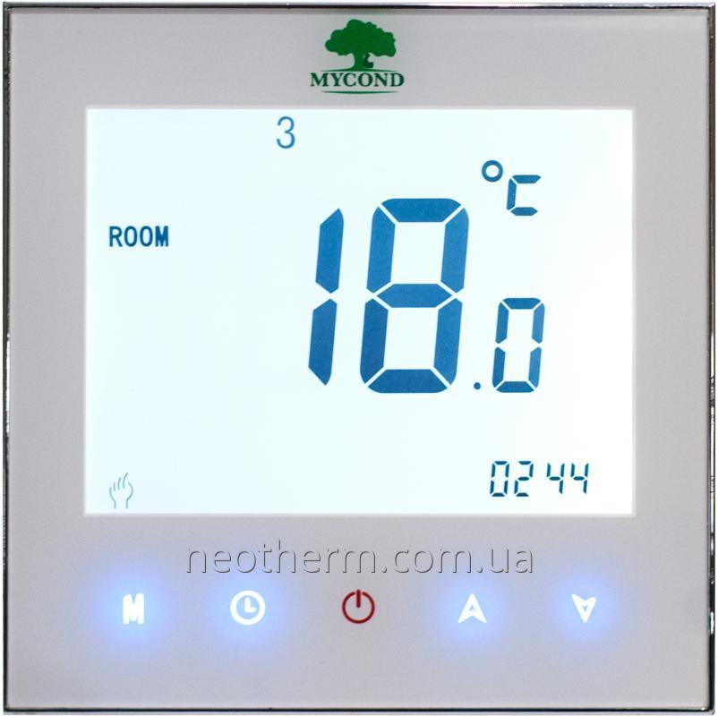 Пульт управления теплым полом Mycond Touch MC-HT-W белый цвет