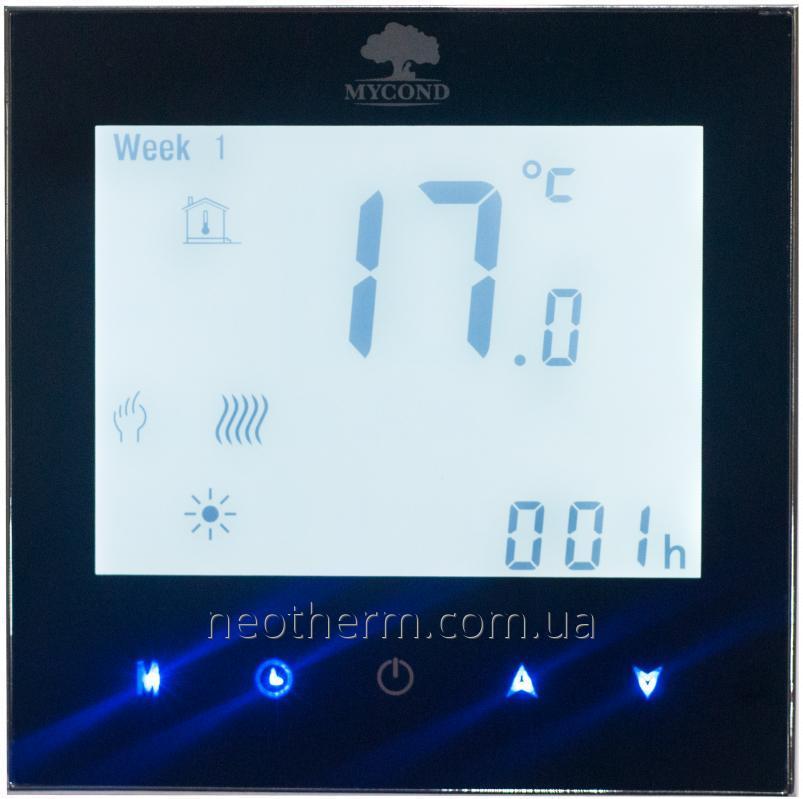 Пульт управления теплым полом Mycond Wireless Touch MC-HWT-B цвет черный