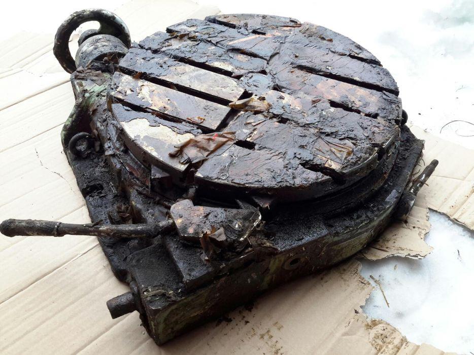 Купить Стол поворотный круглый с ручным и механизированым приводом 7204-0023-01ПС