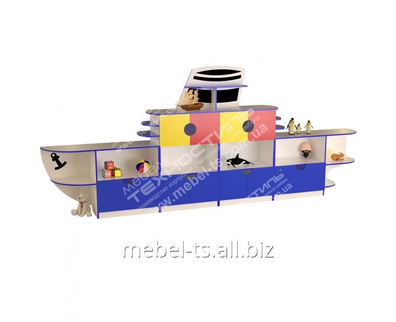"""Мебель детская для игрушек """"Кораблик"""""""