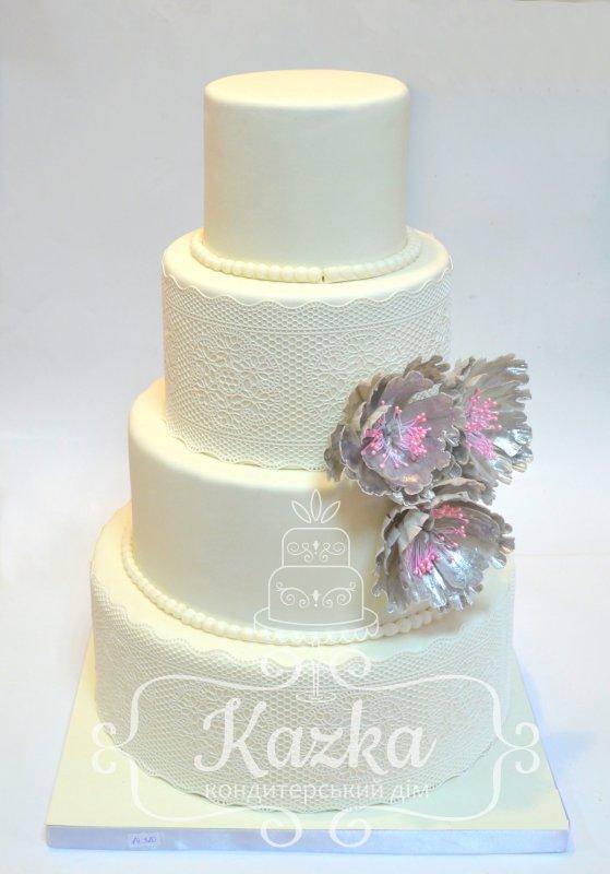 Фото свадебный торт житомир