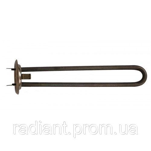 ТЭН Н6307TW: фланец d63, 700 W прямой, нержавеющая сталь, резьба под анод М4.