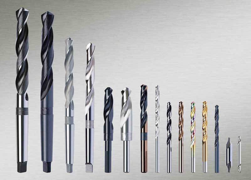 Buy Drills with a conic shaft diameter 6-80mmr6m5