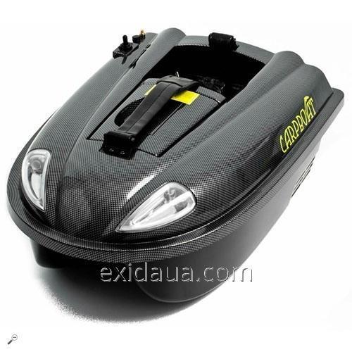 Радиоуправляемый катер-приманка Carpboat Mini Carbon 2,4Ghz