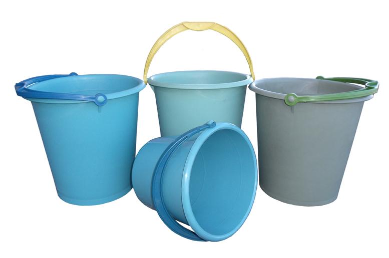 价格圆形塑料桶 在 世界市场