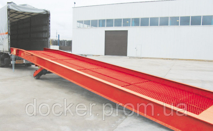 Рампа мобильная Docker 10т 12м гидравлическая
