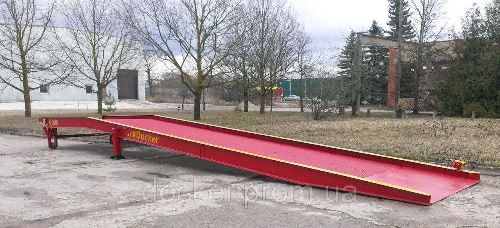 Рампа мобильная Docker 6т 12м механическая