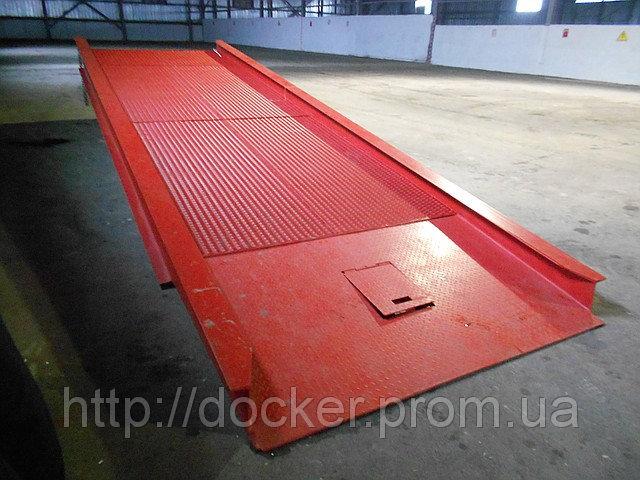 Рампа мобильная Docker 6т 7м гидравлическая