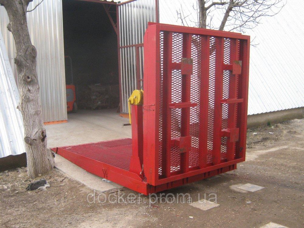Эстакада соединительная Docker 6т 10м с подъемными площадками