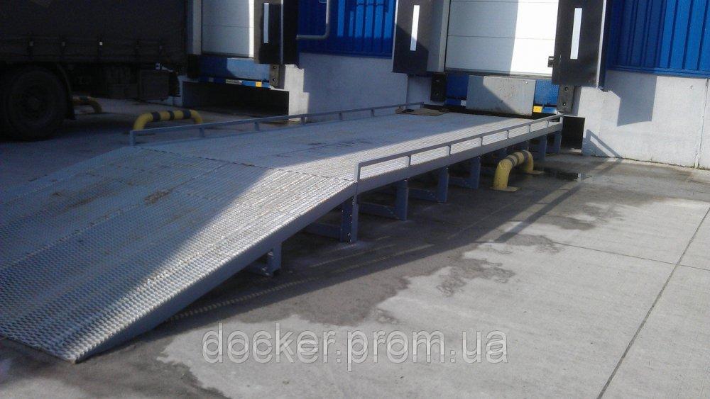 Эстакада стационарная Docker 6т 9м для микроавтобусов