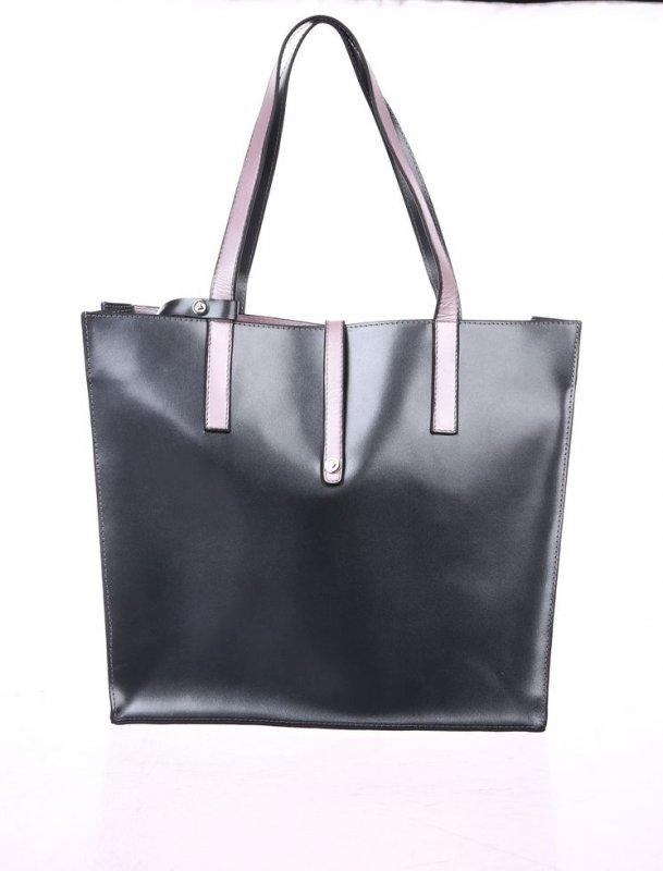 """Женская сумка Valenta из натуральной лаковой кожи цвета """" серый металлик"""""""