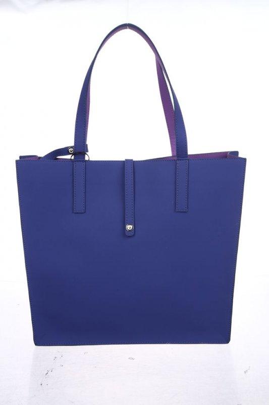 Женская сумка Valenta из неопрена синего цвета