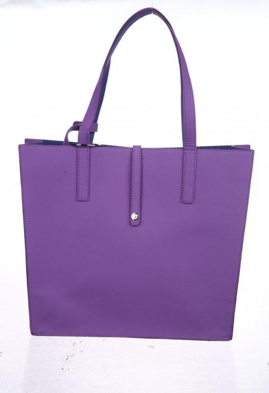 Женская сумка Valenta из неопрена фиолетового цвета