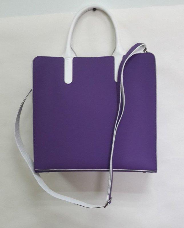 Женская сумка Valenta из фиолетового неопрена