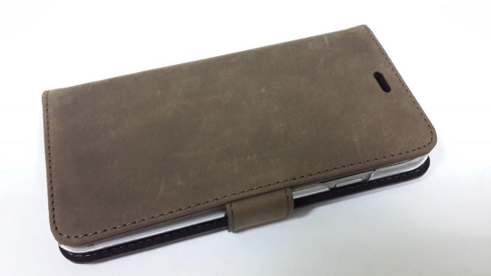 Кожаный чехол-книжка Valenta для смартфона Apple Iphone 6